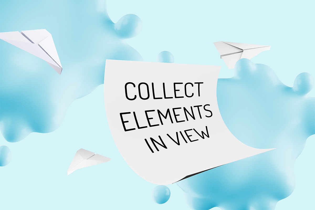 Art for Collect Elements In View