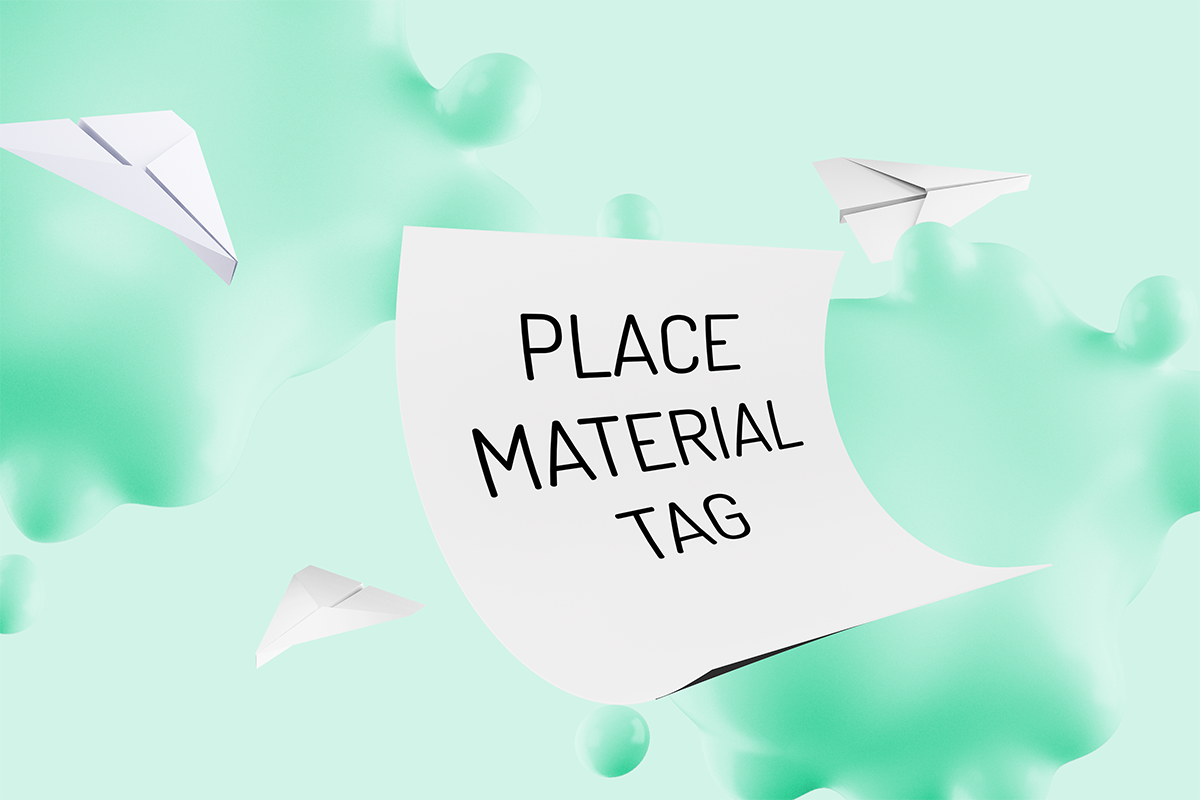 Art for Place Material Tag
